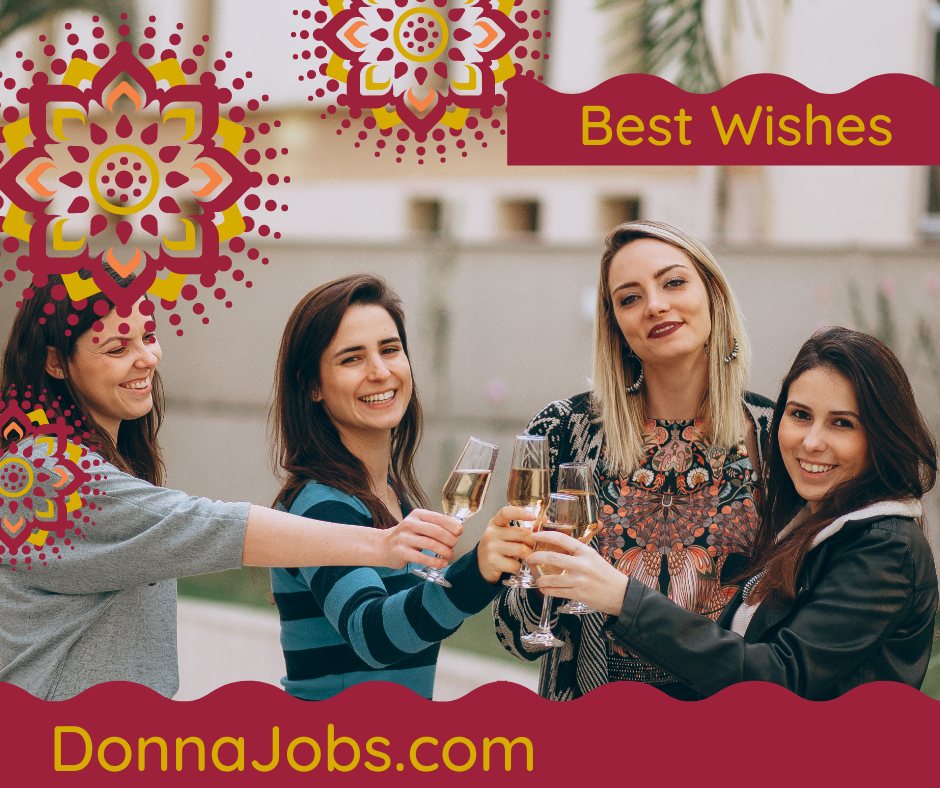 Best Wishes from DonnaJobs.com