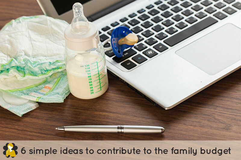 6 simple ideas to contribute to the family budget
