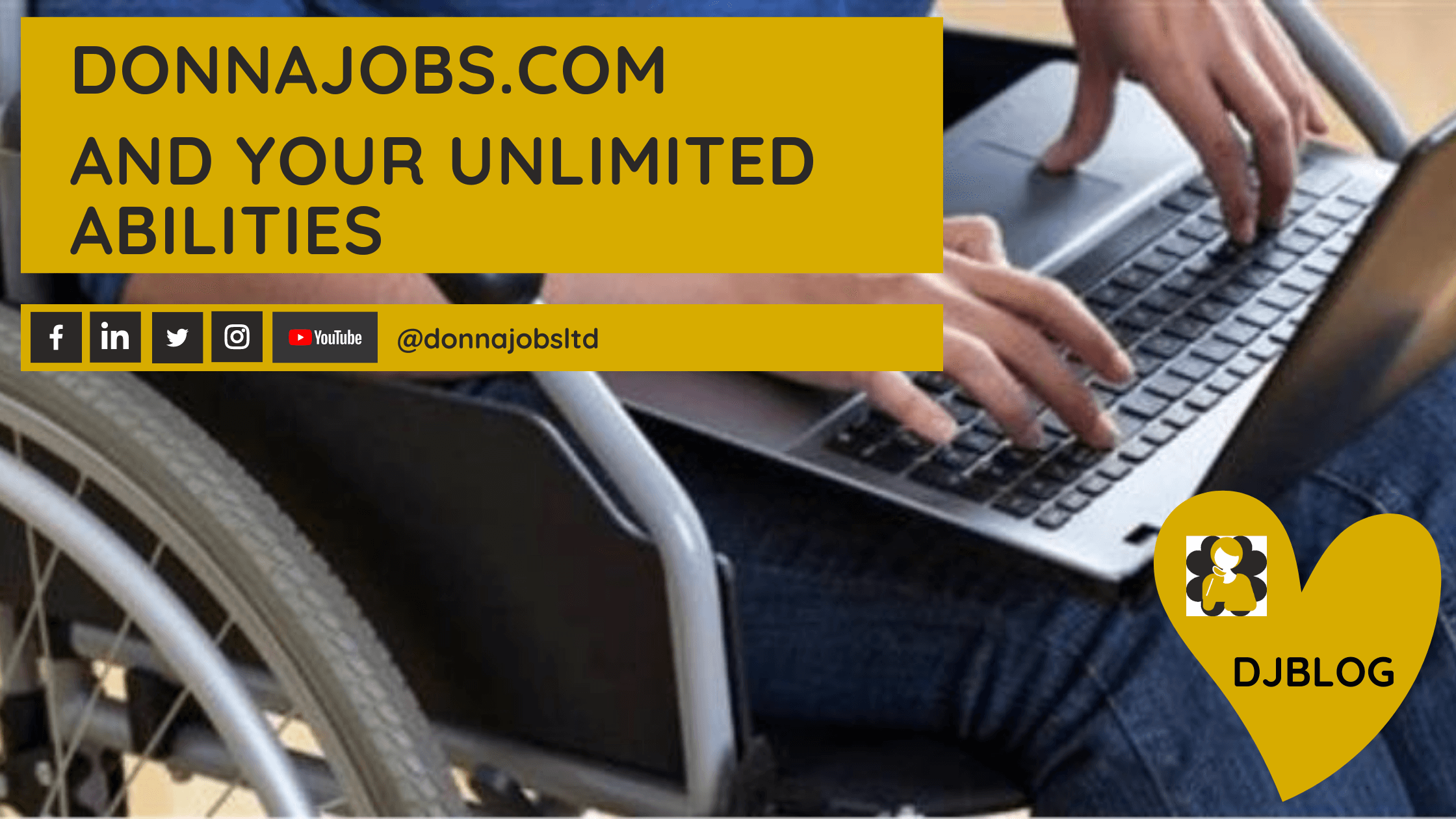 DonnaJobs.com and your unlimited abilities