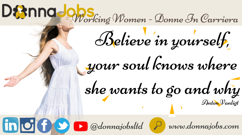 DonnaJobs: Believe in Your-self